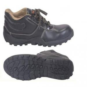 NSS 711B Plain Toe High Ankle Safety Shoes, Size: 10