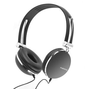 Ambrane Black Multi Function Wired Headphone with Mic, HP-12