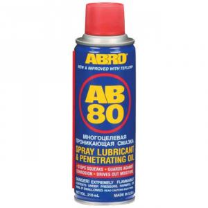 Abro AB-80-100 Spray Lubricant with Teflon, Capacity: 100 ml