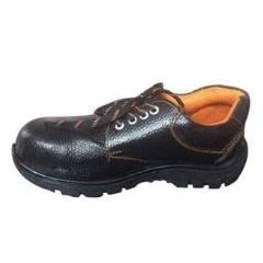 Avon GKS02 Black Steel Toe Safety Shoes, Size: 6