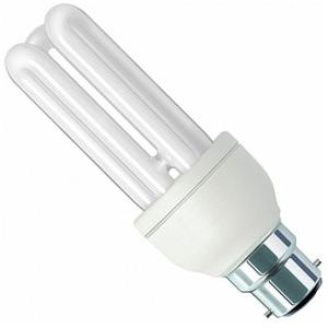 Osram DULSTAR 18W White Stick 3U B-22 CFL (Pack of 7)