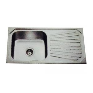 Jayna Jupiter SBSD 02 Anti-Scratch Sink With Drain Board, Size: 37 x 18.5 in