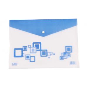 Saya Blue Clear Bag Radiant, Dimensions: 340 x 15 x 350 mm, Weight: 360 g (Pack of 12)