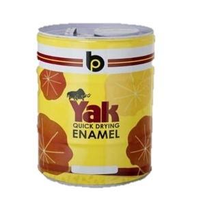 British Paints 10 Litre PO Red Yak Q.D. Synthetic Enamel GR-IV