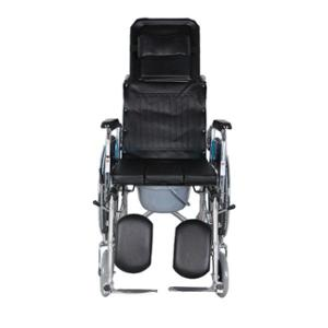 Hero Mediva High Back Reclining Wheelchair with Commode, MHL-1006-C
