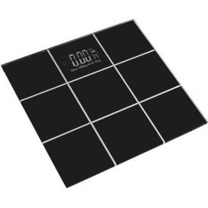 Stealodeal 5-180kg Black CheckBox Glass Digital Weighing Scale, XBCB-180
