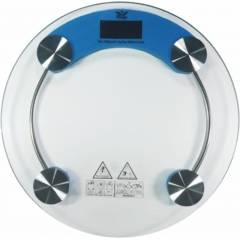Stealodeal RW-150 Blue Round Digital Weighing Scale, Capacity: 150 kg