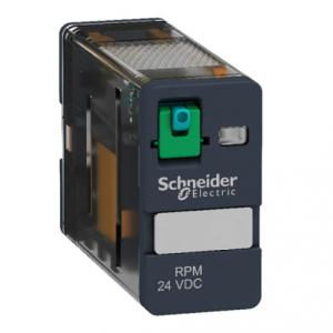 Schneider 15A 12VDC Plug in Power Relay With LED, RPM32JD