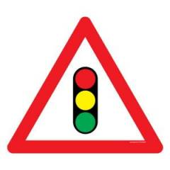 Asian Loto 3 mm Safety Sign Traffic Signals Sign Board, ALC-SGN-50-900