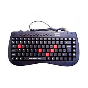 Quantum QHM7309 Black Wired Mini Keyboard