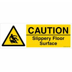 Safety Sign Store Caution: Slippery Surface Sign Board, CW412-1029AL-01