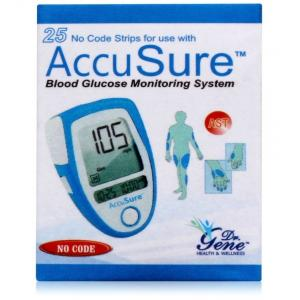 Accusure Blood Glucose Test Strips (25 Strips)