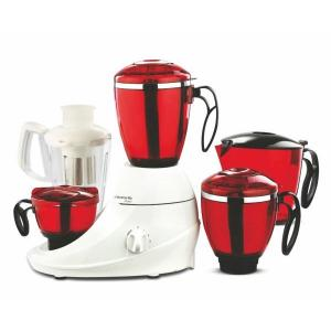 Butterfly Desire 1HP Red & White Mixer Grinder with 3 Jars