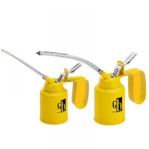 GB Tools Oil Can Tin Plate Steel Pump Fixed Spout-GB8841A (Capacity: 1/4Pint)