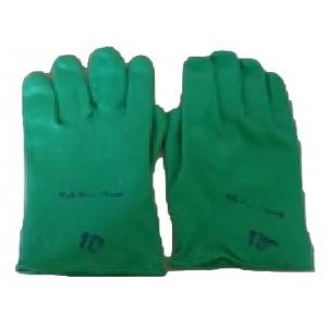 Tee Pee Household 12 Inch Green Safety Gloves (Pack of 10)