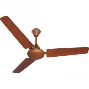 Black Cat Primo Brown Ceiling Fan, Speed: 350 rpm