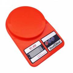 Stealodeal 5 Kg Red Electronic Kitchen Weighing Scale, SF-400