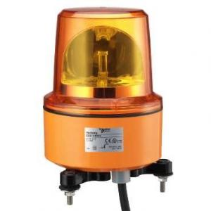 Schneider 230V Orange Rotating Mirror Beacon Without Buzzer, XVR13M05L