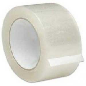 Elisha 48mm Transparent Bopp Tape, Length: 65m (Pack of 6)