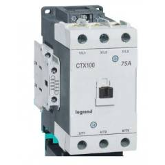 Legrand 3 Pole Contactors CTX³ 100 Cage Terminal Integrated Auxiliary Contacts 2 NO + 2 NC, 4161 94