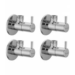 Snowbell Flora Brass Angle Faucet (Pack of 4)