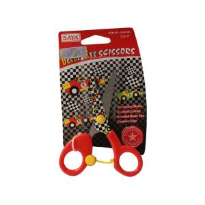 Saya SYSC105 Red Designer Kids Scissor, Weight: 34 g (Pack of 12)