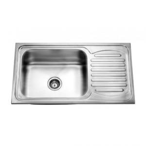 Jayna Jupiter SBSD 03 (Premium) Glossy Sink With Drain Board, Size: 36 x 20 in