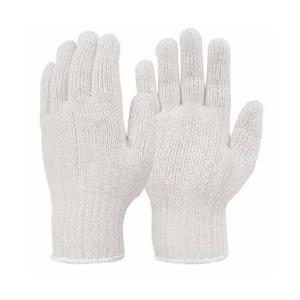 Midas 50 g White Cotton Knitted Hand Gloves (Pack of 100)
