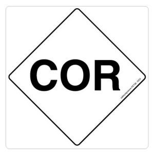Safety Sign Store Corrosive Sign Board, FE738-210PC-01, (Pack of 5)