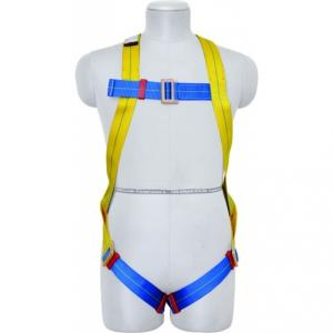 Karam Full Body Harness with Restraint Twisted Rope Double Lanyard, KI01(PN206D)