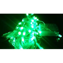 Blackberry Overseas 15m Green Decorative LED Light with Black Wire