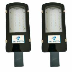 Dev Digital 36W White Street Lights (Pack of 2)