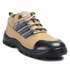 Allen Cooper AC 9005 Antistatic Steel Toe Brown Safety Shoes, Size: 6
