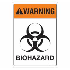 Safety Sign Store Warning: Bio Hazard Sign Board, SS125-A5V-01