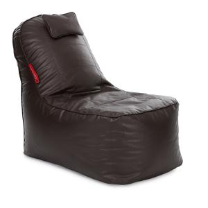 Style Homez Chocolate Brown Video Rocker Lounger Bean Bag Cover, Size: XXXL