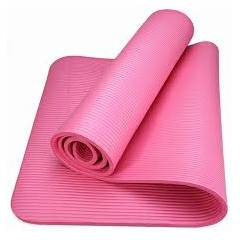 Albio 6mm Imported Anti Skid Pink Yoga Mat (Pack of 3)