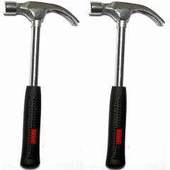 Ketsy 704 Steel Shaft Curved Claw Hammer Set, Weight: 1/2 lb