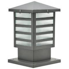 Glow Fixtures PTL Grey Mini Garden Gate Light Fixture, GL1276ABD