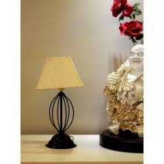 Tucasa Table Lamp with Square Shade, LG-573, Weight: 450 g