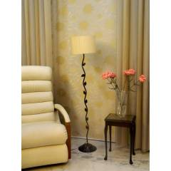 Tucasa Leaf Floor Lamp with Circular Shade, LG-578, Weight: 1100 g