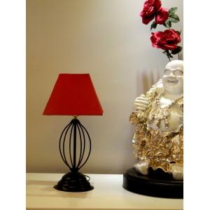 Tucasa Table Lamp with Square Shade, LG-568, Weight: 450 g