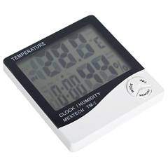 Mextech TM-2 Digital Thermo Hygrometer with Indoor & Outdoor Temperature Display