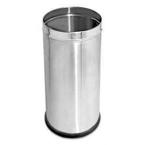 SBS 80 Litre Steel Open Bin, Size: 356x711 mm