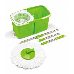 Blessed Green Twin Bucket Spin Mop