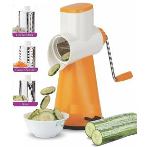 SM Orange Vegetable Grater Mandoline Slicer