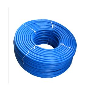 Teriot Thermo Plasto Rubber 8mm Braided Blue Color Welding Hose Pipe(Pack of 3)