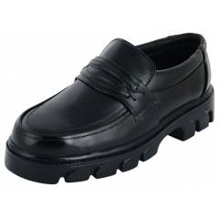 Chamois 22930 Steel Toe Black Safety Shoes, Size: 5