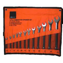 JCBL 1008 12 Pieces Combination Spanner Set with Pocket Packing