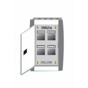 Cornetto 16 Way SPN Double Door Deluxe MCB Box, 1180