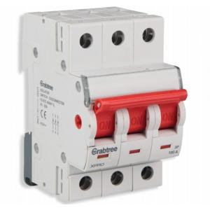 Crabtree Xpro 100A Three Pole Higher Rating Isolator, DCMFOTPX100